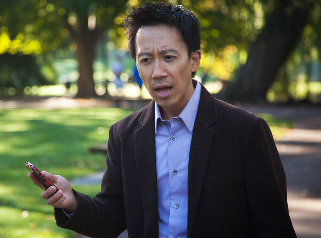 Albert stars as Chase in HOMOPHONIA at the San Diego Asian Film Festival