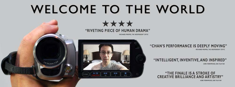 WELCOME TO THE WORLD Nominated for Lead Actor and Smartphone Awards