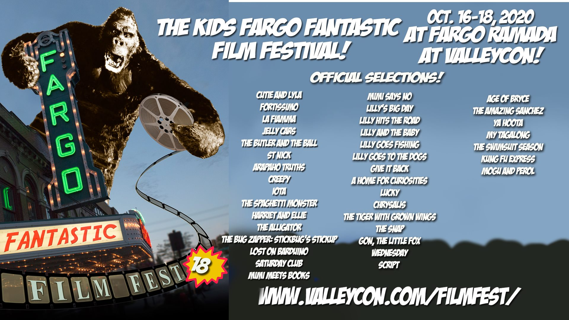 Fargo-Moorhead KIDS Fantastic Film Festival Selects THE BUTLER AND THE BALL