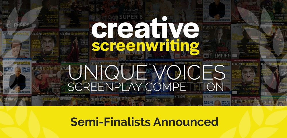 INCARNATIONS Named Semifinalist for Creative Screenwriting Unique Voices Screenplay Competition