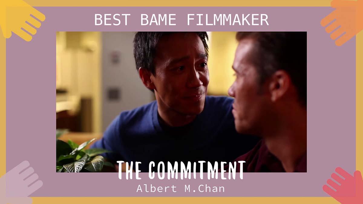 Albert Wins Best BAME Filmmaker Award at UK's Sappho Film Festival