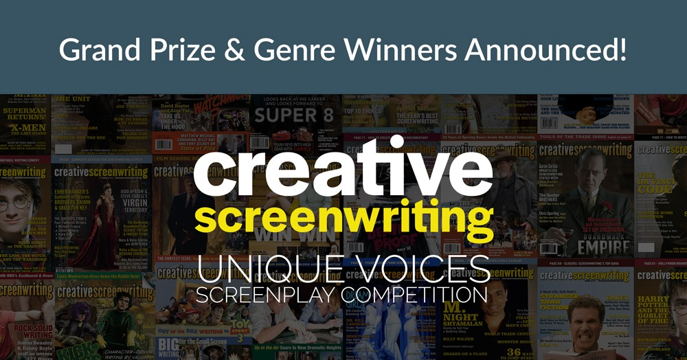 INCARNATIONS Places as Finalist in Creative Screenwriting Unique Voices Screenplay Competition